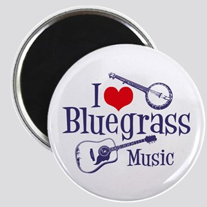 I Love Bluegrass Magnet