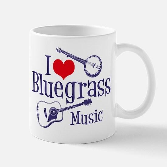 I Love Bluegrass Mug