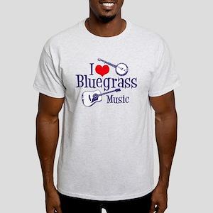 I Love Bluegrass Light T-Shirt
