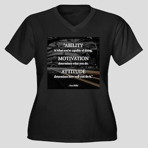 Ability Motivation Attitude Plus Size T-Shirt