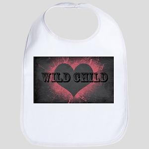 Wild Child Heart Shirt Bib