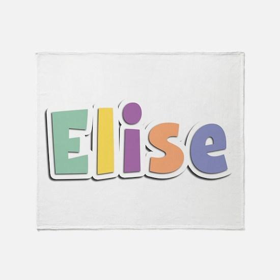 Elise Spring14 Throw Blanket