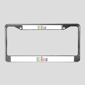 Elise Spring14 License Plate Frame