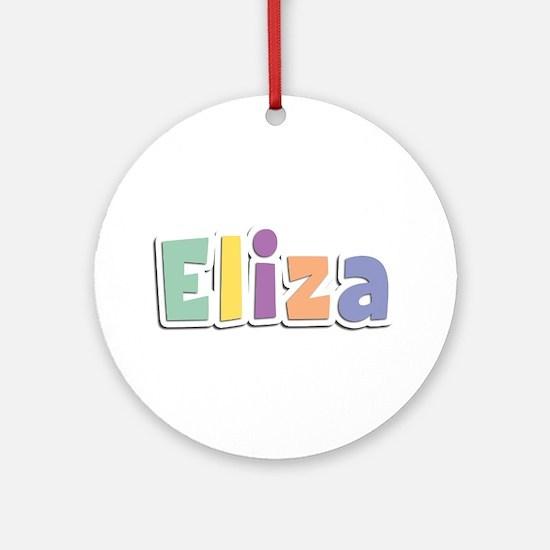 Eliza Spring14 Round Ornament