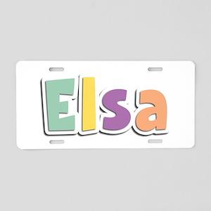 Elsa Spring14 Aluminum License Plate