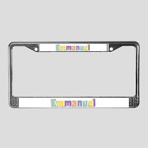 Emmanuel Spring14 License Plate Frame