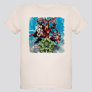 The Avengers Organic Kids T-Shirt