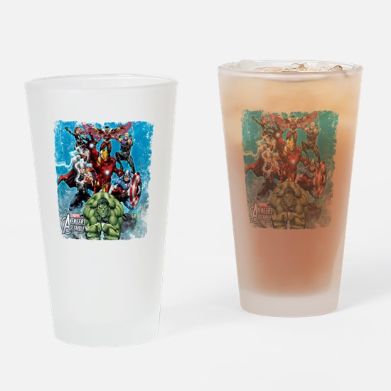 The Avengers Drinking Glass