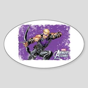 Hawkeye Aim Sticker (Oval)