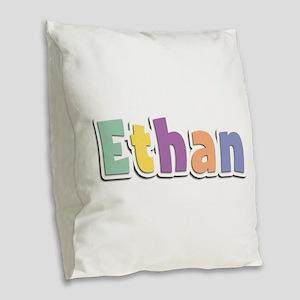 Ethan Spring14 Burlap Throw Pillow