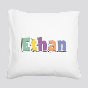 Ethan Spring14 Square Canvas Pillow