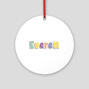 Everett Spring14 Round Ornament