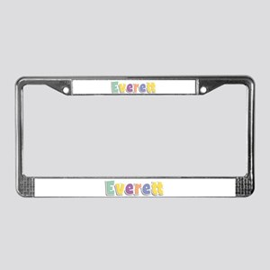 Everett Spring14 License Plate Frame