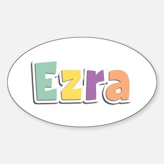 Ezra Spring14 Oval Decal
