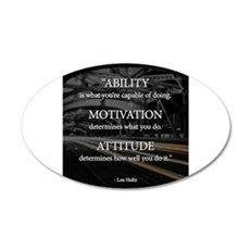 Ability Motivation Attitude Wall Sticker