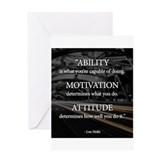 Motivation Greeting Cards