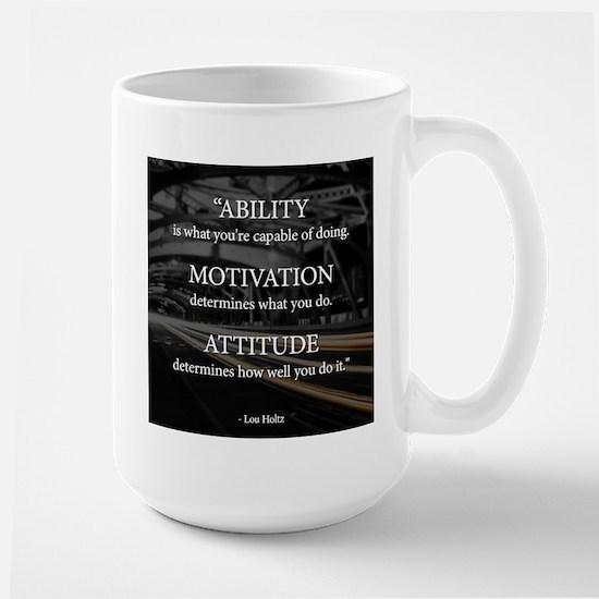 Ability Motivation Attitude Large Mug