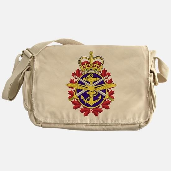 Canadian Forces Logo Messenger Bag