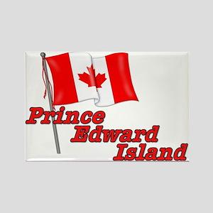 Canada Flag - Prince Edward Island Rectangle Magne