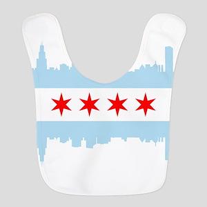 Chicago Flag Skyline Bib