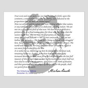 Gettysburg Address Small Poster