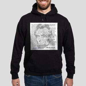 Gettysburg Address Hoodie (dark)