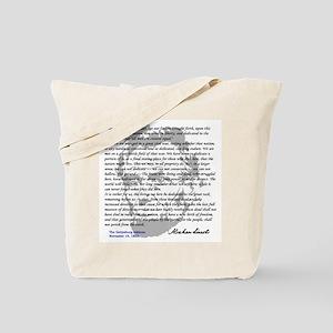 Gettysburg Address Tote Bag