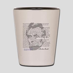 Gettysburg Address Shot Glass