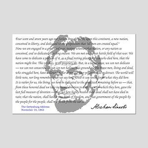 Gettysburg Address Mini Poster Print