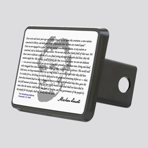 Gettysburg Address Rectangular Hitch Cover