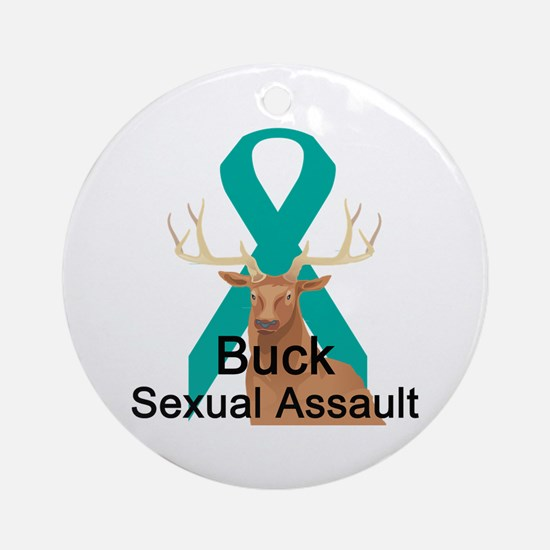 Sexual Assault Ornament (Round)