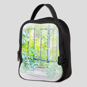 Leaf Window Neoprene Lunch Bag