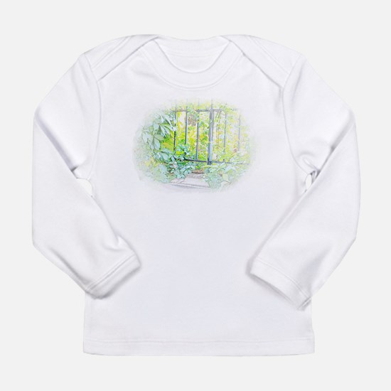 Leaf Window Long Sleeve T-Shirt
