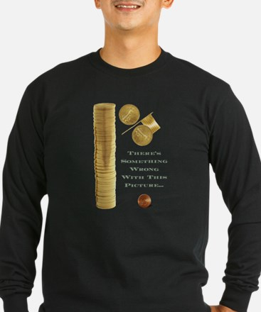 Wealth Inequality in the USA Long Sleeve T-Shirt