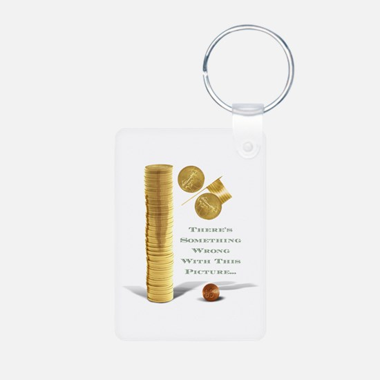 Wealth Inequality in the USA Keychains