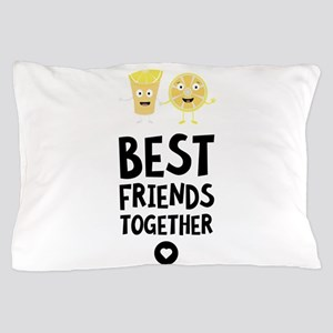 Tequila Best friends Heart Pillow Case