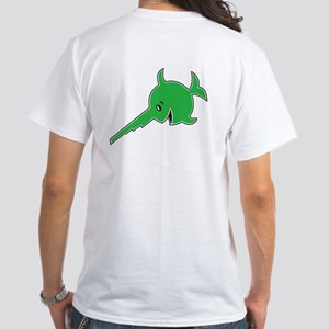 "9th Flotilla ""Laughing Sawfish"" White T-Shirt"