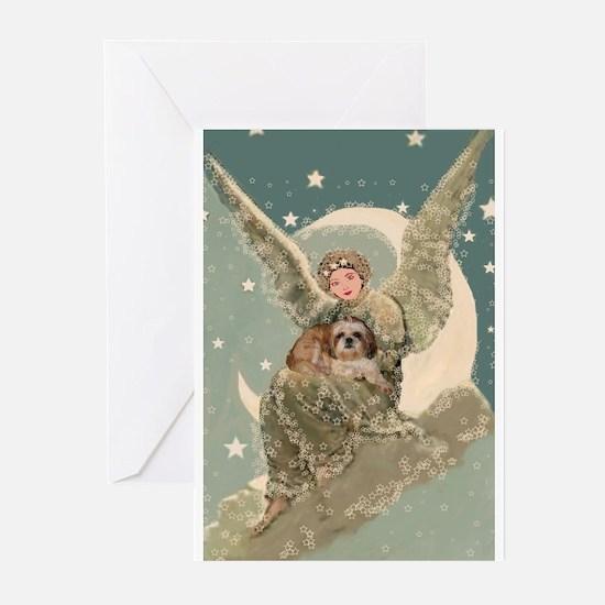 Heaven Sent Shih Tzu Greeting Cards (Pk of 10)