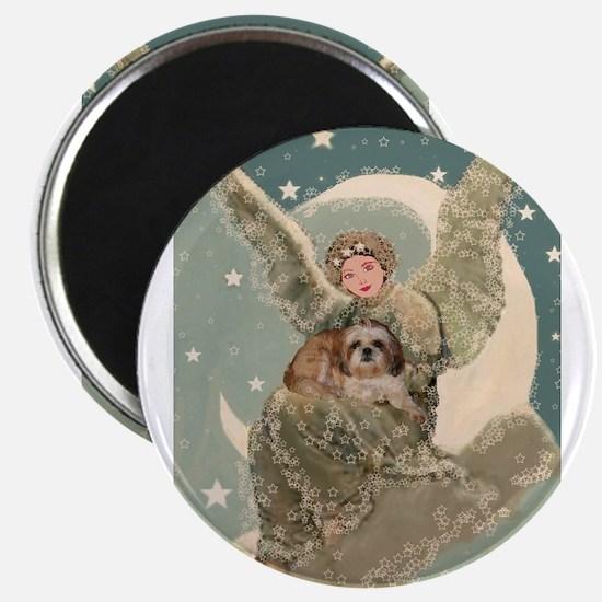 "Heaven Sent Shih Tzu 2.25"" Magnet (10 pack)"