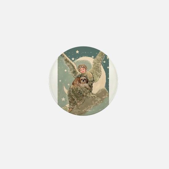 Heaven Sent Shih Tzu Mini Button