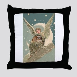 Heaven Sent Shih Tzu Throw Pillow