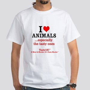 I Love Animals...esp. The Tasty Ones T-Shirt