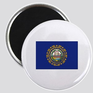 New Hampshire Flag Magnet