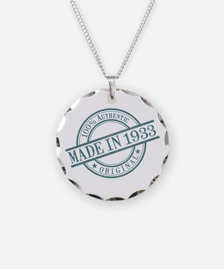 Made in 1933 Necklace