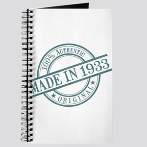 Made in 1933 Journal
