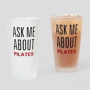 Ask Me Pilates Pint Glass