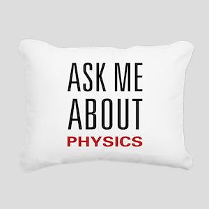 askphysics Rectangular Canvas Pillow