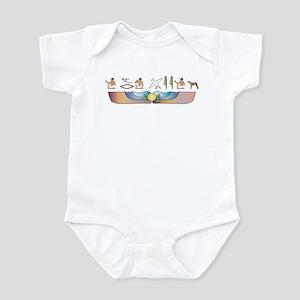 Whippet Hieroglyphs Infant Bodysuit