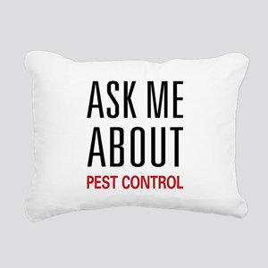 askpest Rectangular Canvas Pillow