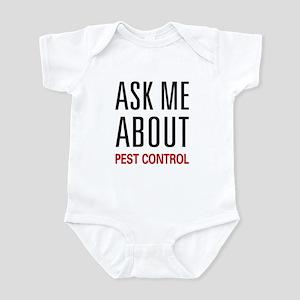 Ask Me About Pest Control Infant Bodysuit